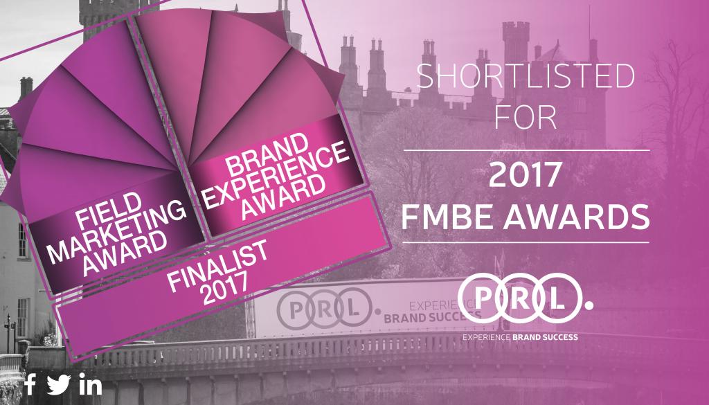 PRL Shortlisted for 2017 FMBE Awards